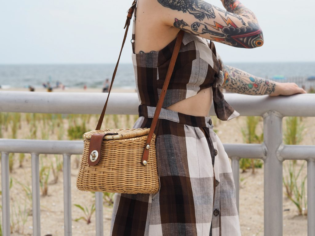 The perfect beach day in Reformation