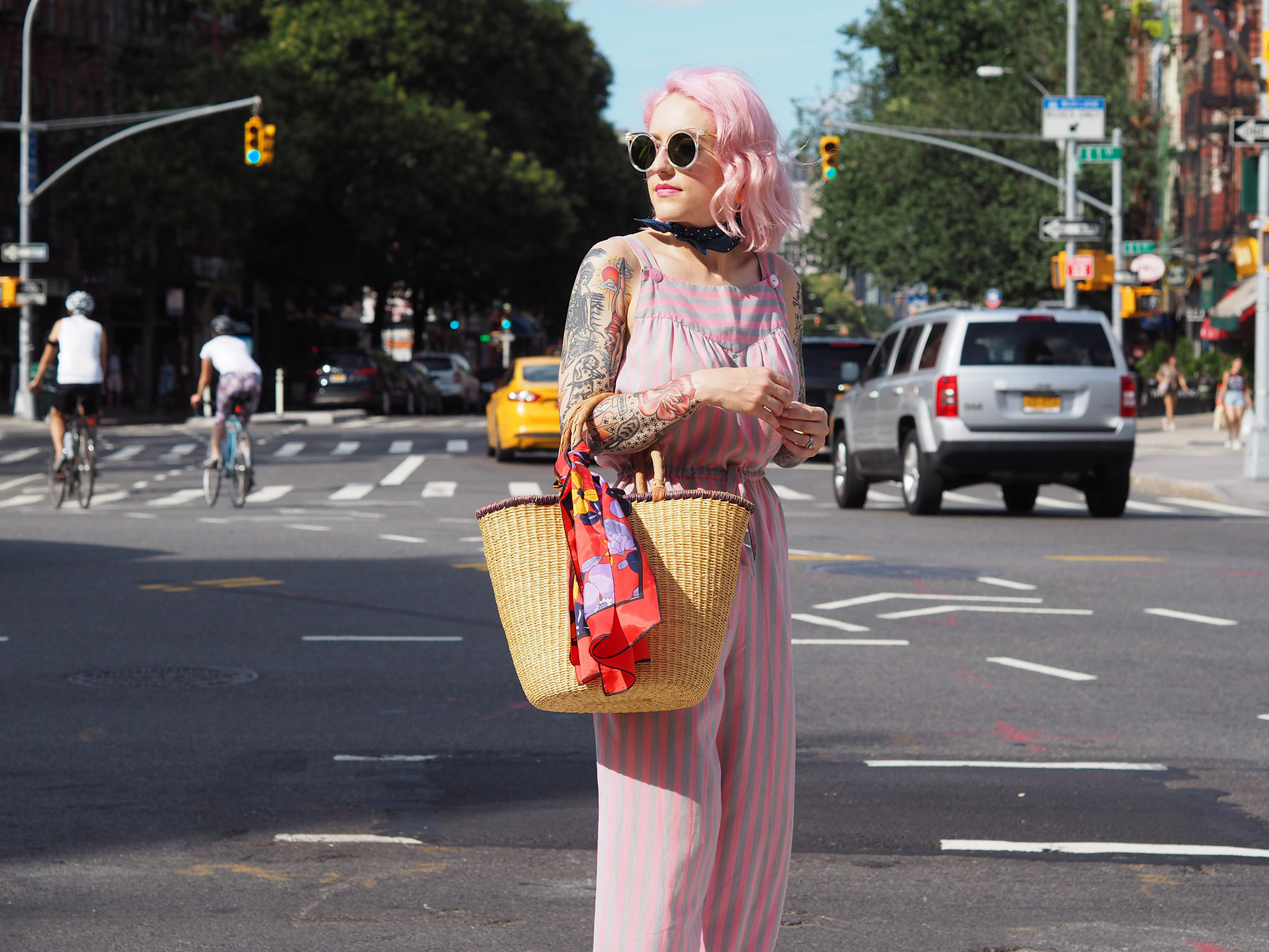 You can never wear too much pink! Or can you? I'm testing it out on the blog!