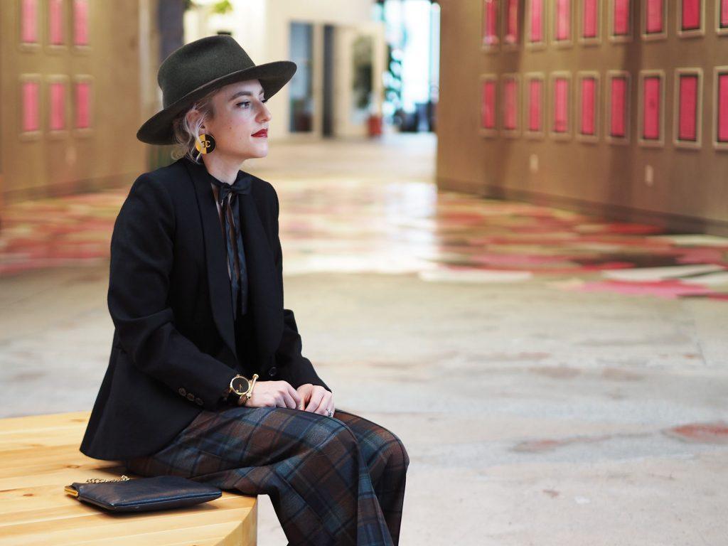 Menswear in a ladylike way, on the blog!