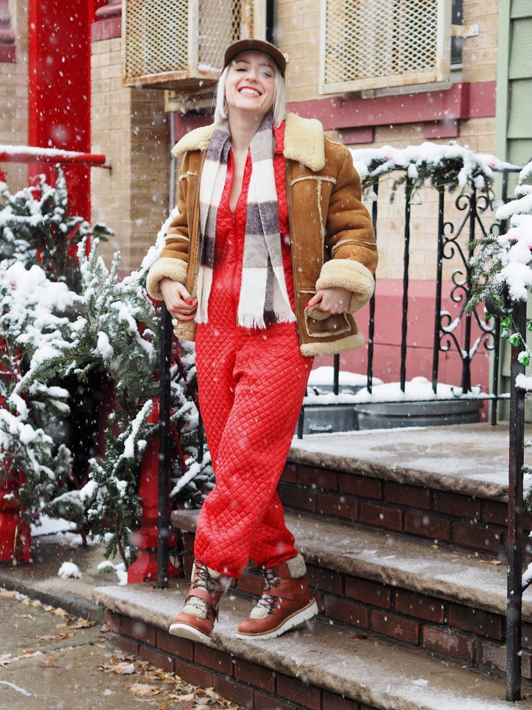 Wear your pajamas out on the town in style on Christmas morning!