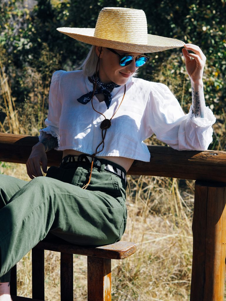 The perfect outfit for an African safari