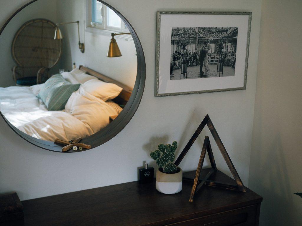 Our mini bedroom makeover with Framebridge